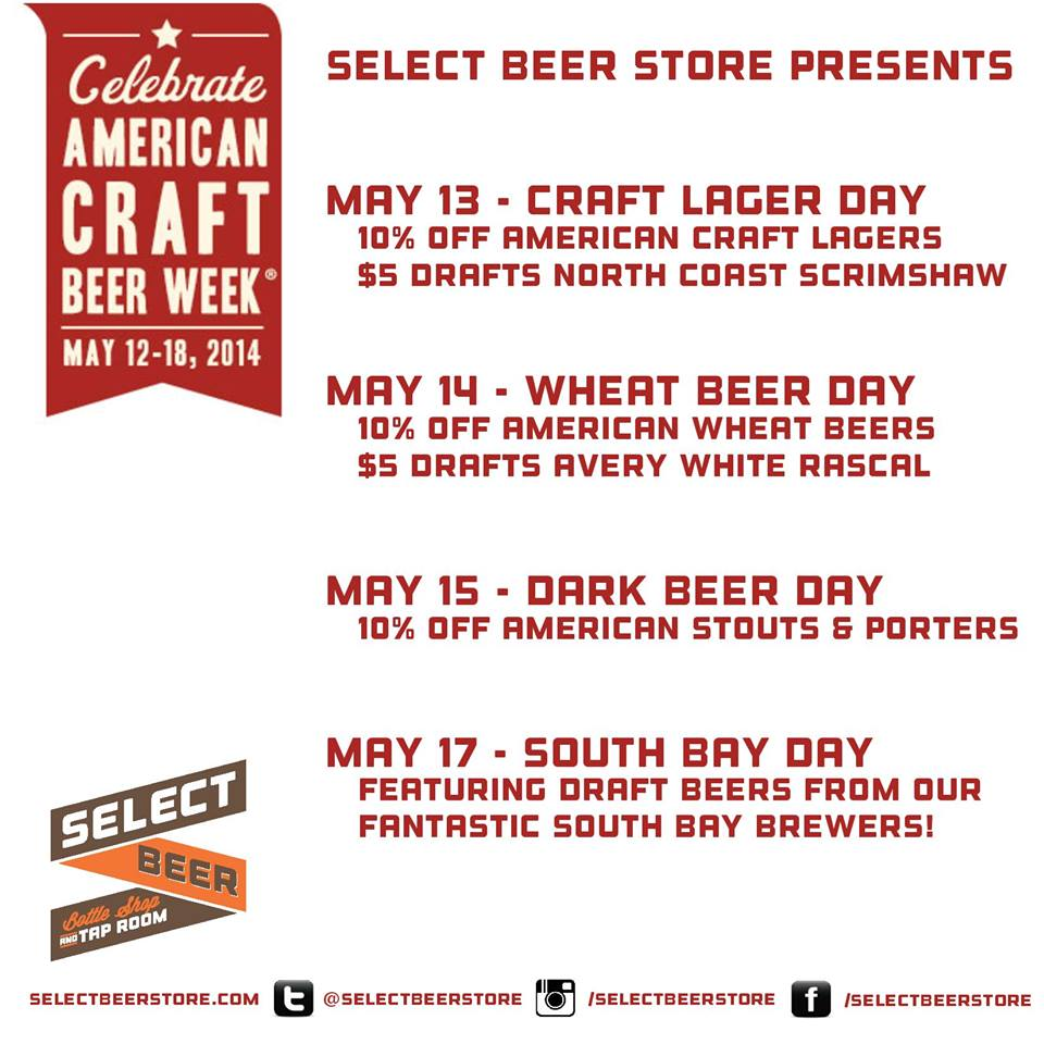 Sb Suds Cheers To American Craft Beer Week In The South Bay South