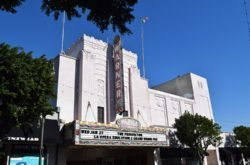 Historic Warner Grand Theatre in Downtown San Pedro is the venue for SPIFFest and this Saturday's special screening of Academy Award nominated Best Live Action Short Films (Photo by South Bay Events).
