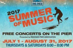2017 Summer of Music Free Concerts on the Pier