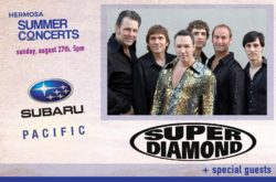 Hermosa Beach Summer Concerts featuring the Neil Diamond Tribute Band