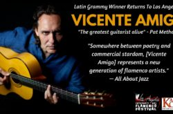 Latin Grammy Award-winner Vicente Amigo is known as one of the most dazzling flamenco guitarists of his generation.