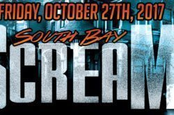 Berry Bly Productions present the biggest Halloween bash, South Bay Scream, at the Portofino Hotel in Redondo Beach Friday, October 27th.