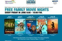 FREE Family Movie Nights Fridays in June on the Redondo Pier