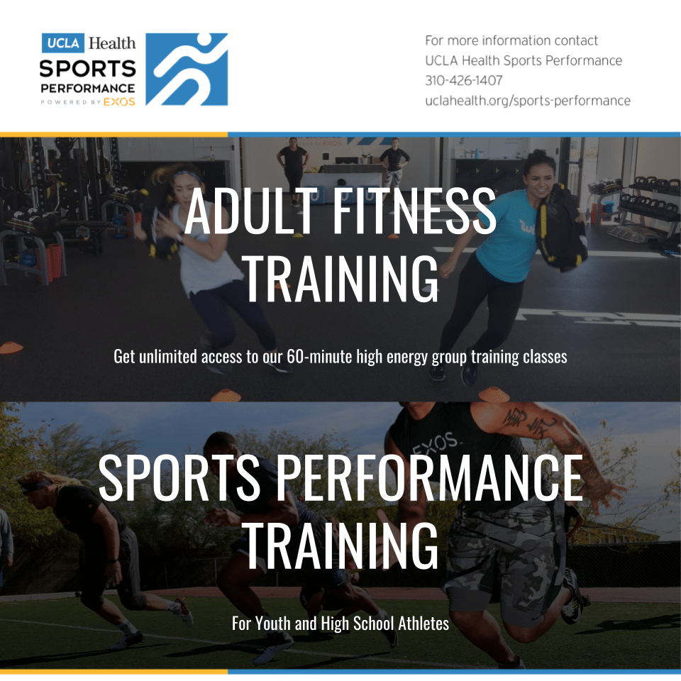 UCLA Health Sports Performance, Powered by EXOS - South Bay Events