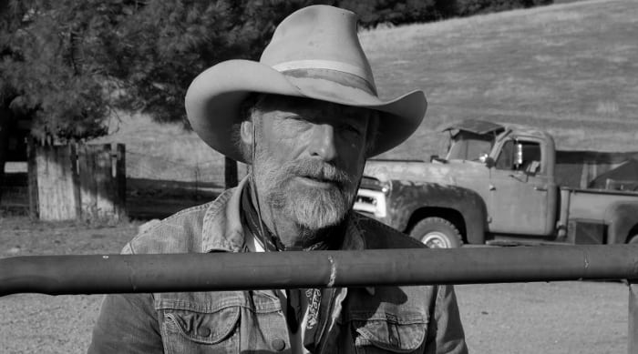 "Perry King plays aging rancher Sam Kincaid in ""The Divide."" Image courtesy of Arya Worldwide Entertainment."