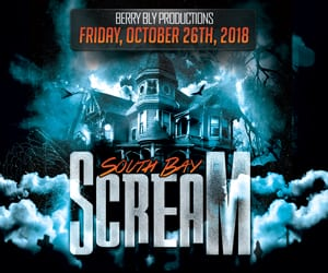 The South Bay's largest and best Halloween party is back, SOUTH BAY SCREAM! The South Bay's most ghoulish fright night returns this year to Alta House in Hermosa Beach on Friday night October 26th at 9:00 p.m.