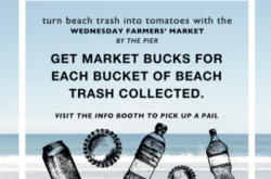 Hermosa's Farmers' Market Rewards Beach Cleaners with Bucks for Buckets