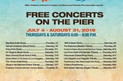 Summer of Music, Free Concerts on the Redondo Pier