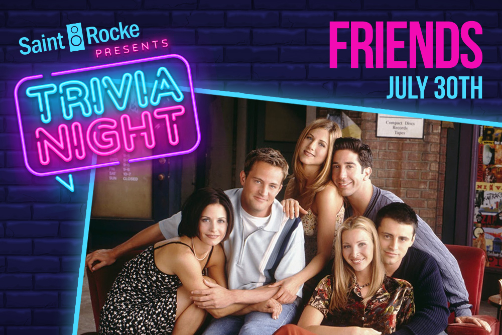 Friends Trivia - South Bay Events