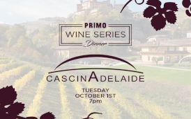 Primo Wine Dinner: Cascina Adelaide
